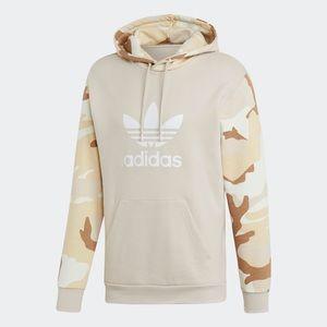 Adidas Originals Camo Beige Hoody